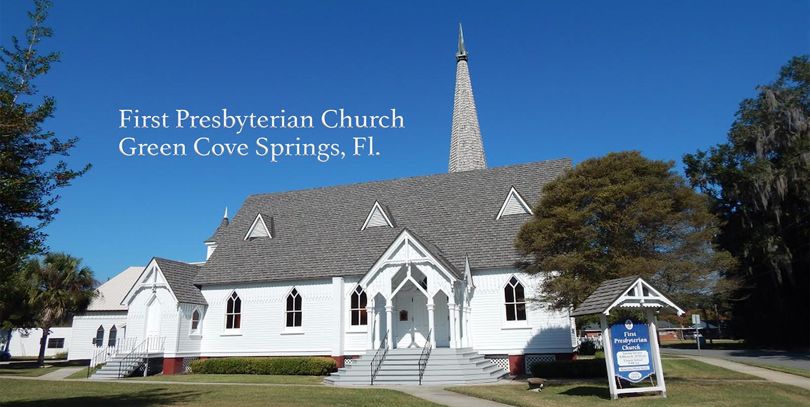 First presbyterian green cove springs